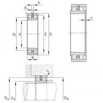 INA NN3012-AS-K-M-SP cylindrical roller bearings